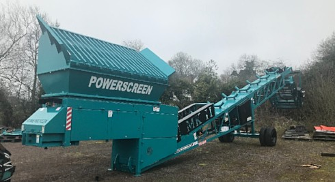 powerscreen mark 2 screener ac