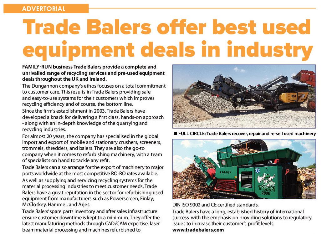 Trade Balers