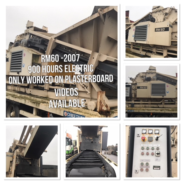 electric rubble master rm 60 crusher