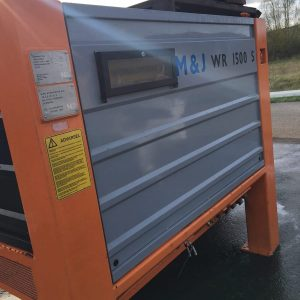 M and J Metso Shredder