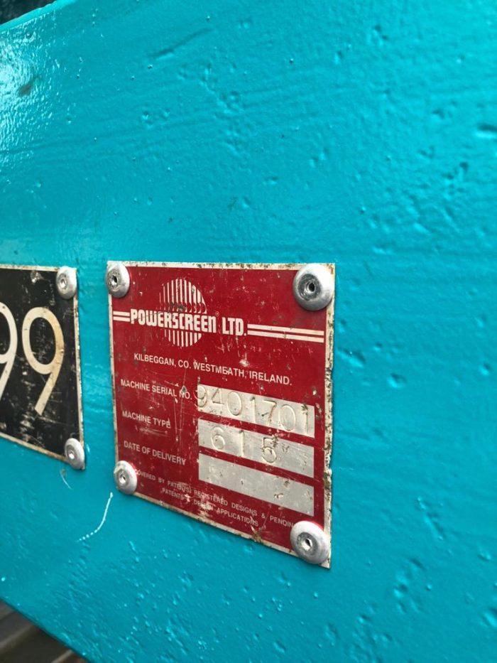 Powerscreen 615 Trommel