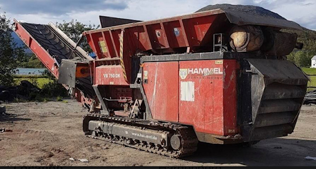 Hammel 750 Shredder