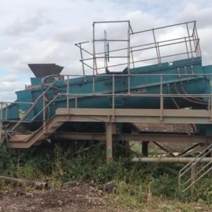 Powerscreen Log Washer