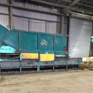 Nordic fully auto baler with cross-wrap