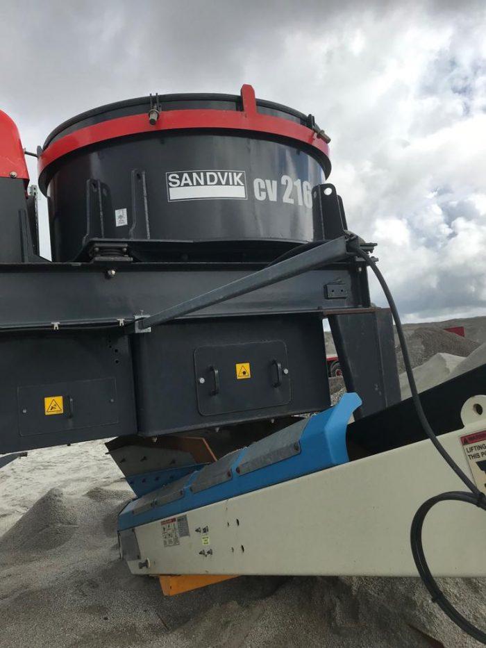 Sandvik CV216 VSI Crusher