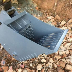 TBR Mini Digger Crusher Bucket