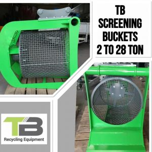 TBR Screen Bucket