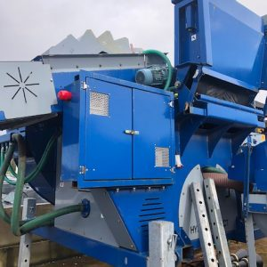 wash plant dewatered system