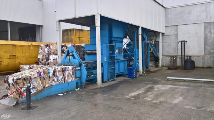PAAL Pacomat V-50 CBH Channel Baling Press